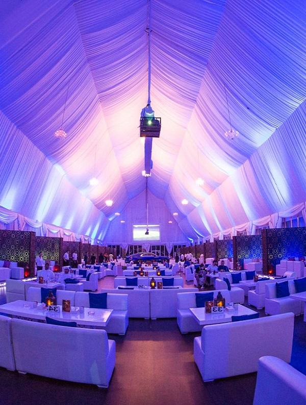 Ramadan tent at Habtoor Grand Resort