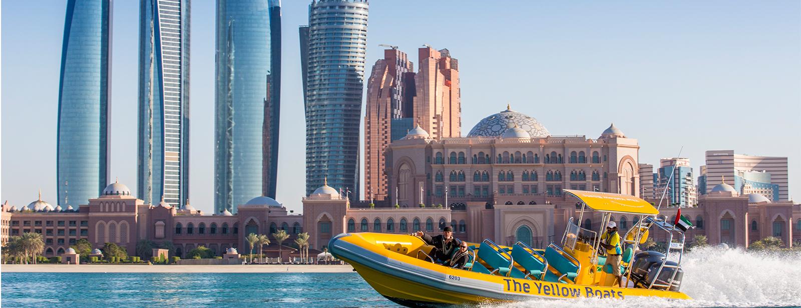 60 Minutes Boat Tour- Emirates Palace Marina, Corniche, Lulu Island