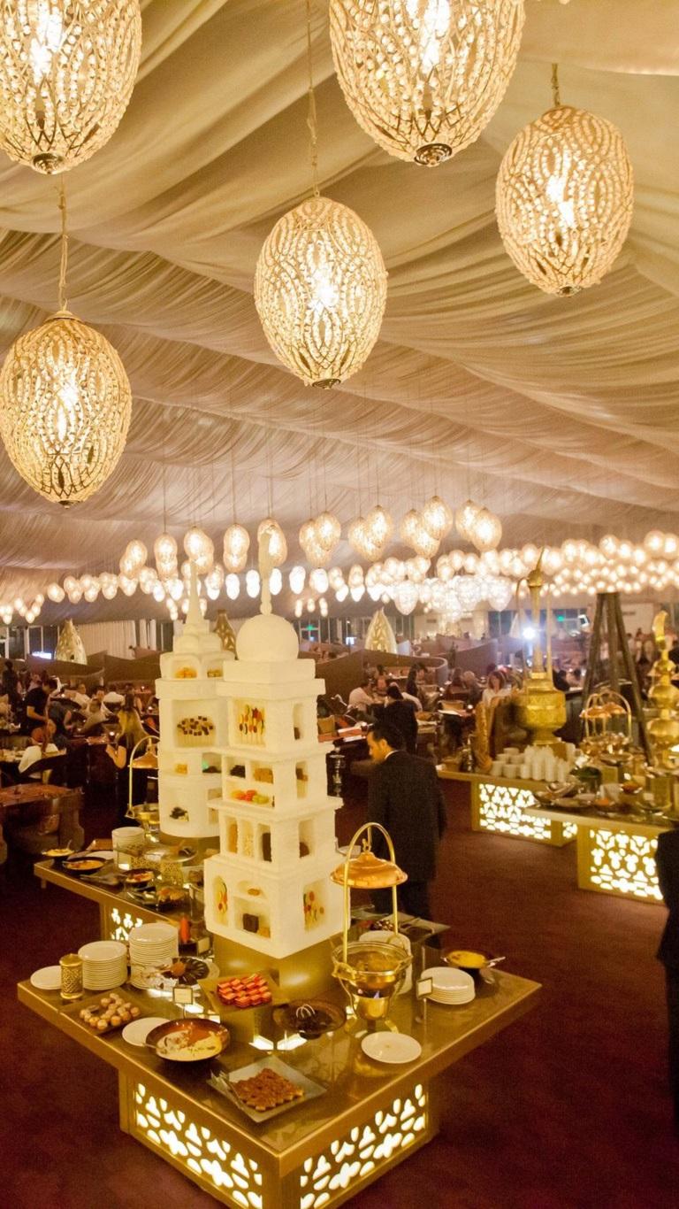 Asateer Ramadan tent at Atlantis Dubai