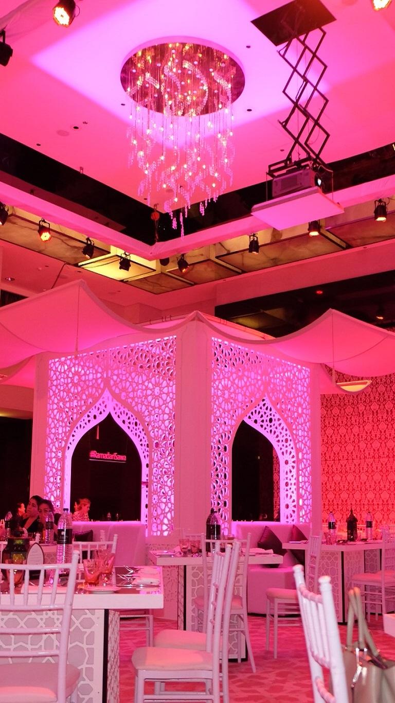 Ramadan tent at Address Dubai Marina