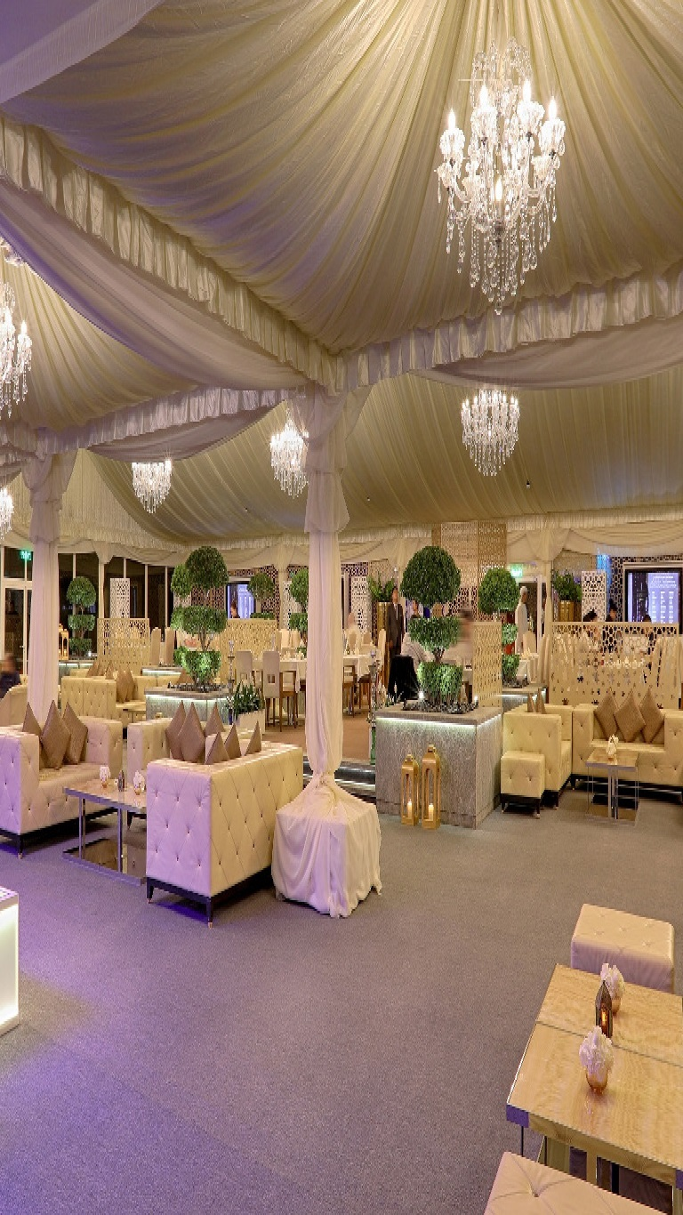 Ramadan tent at The Meydan Hotel