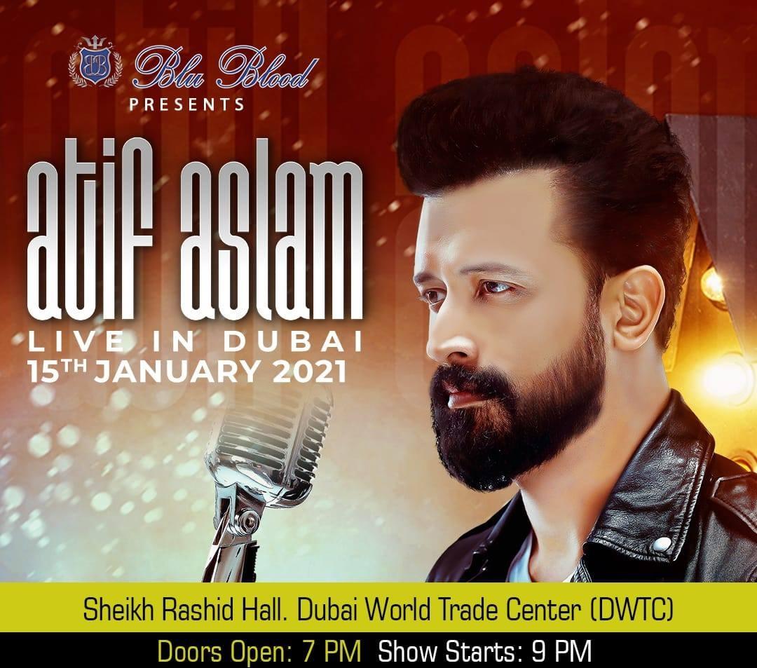 Atif Aslam - Live in Dubai