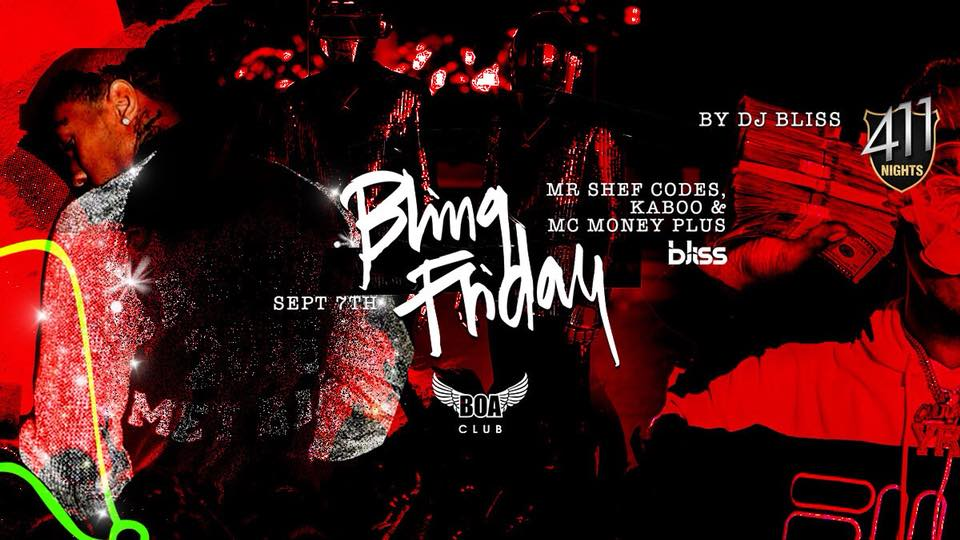 BLING Friday - Dubai's biggest URBAN party