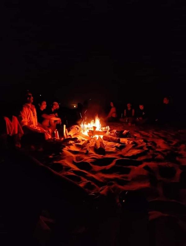 Fullmoon spiritual camping