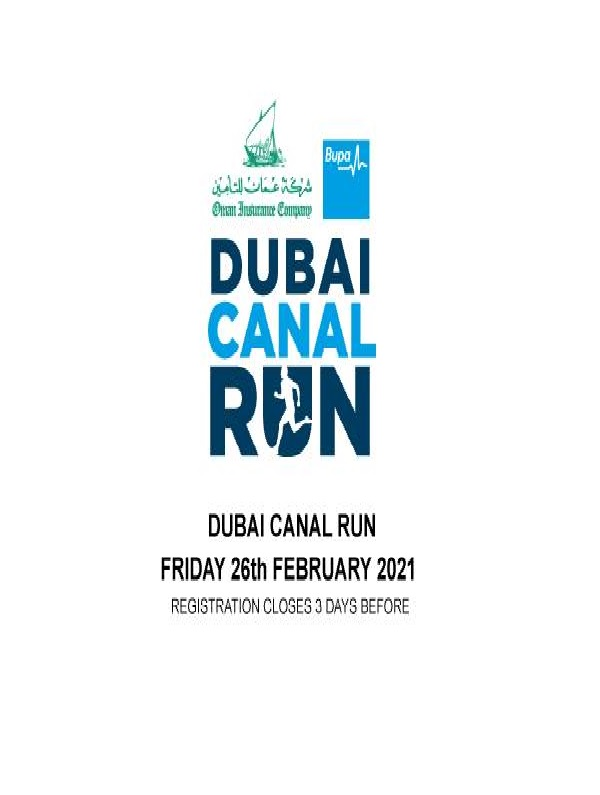 Dubai Canal Run