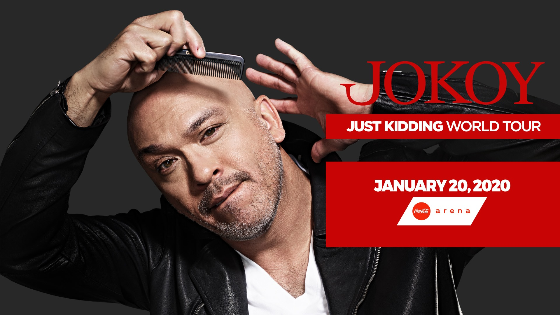 Jo Koy - Just Kidding World Tour LIVE at Coca-Cola Arena