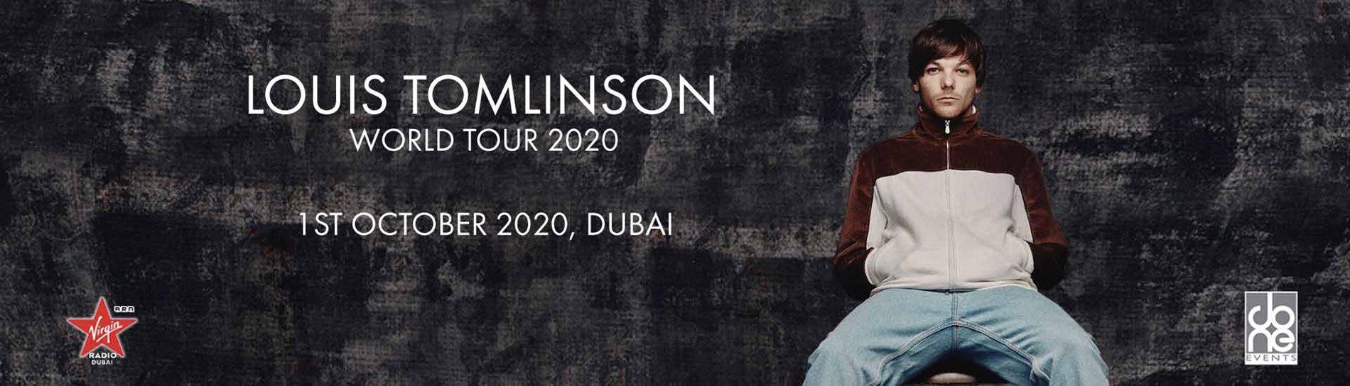 LOUIS TOMLINSON WORLD TOUR 2020