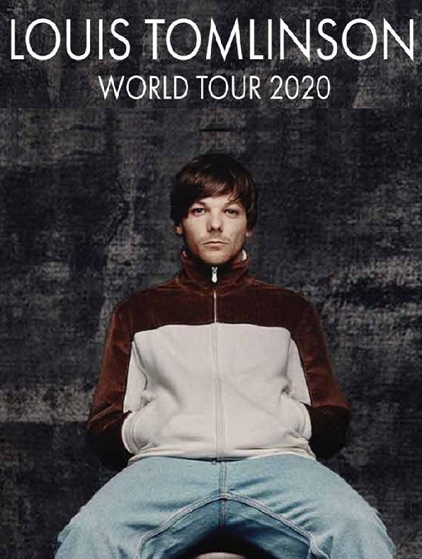 LOUIS TOMLINSON WORLD TOUR 2020