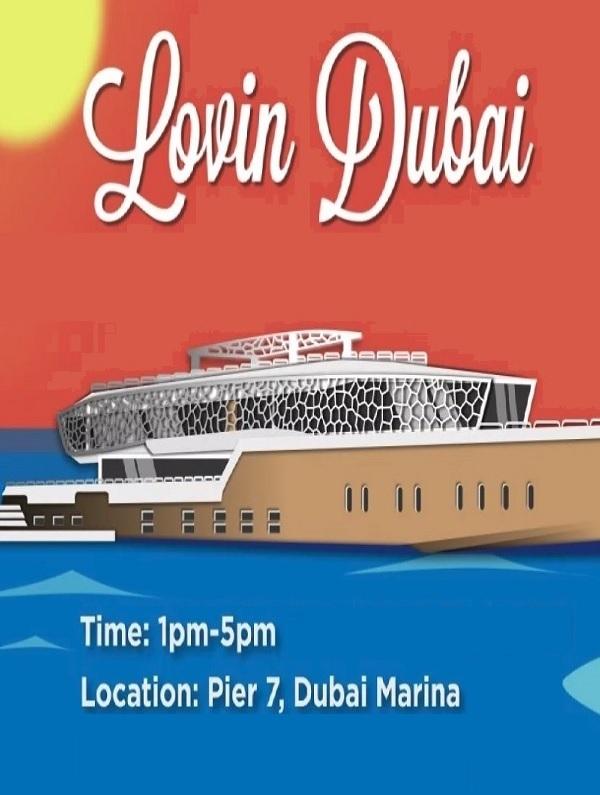 Lovin Dubai Mega Yacht Brunch