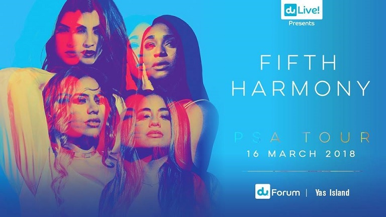 Fifth Harmony Live in Abu Dhabi