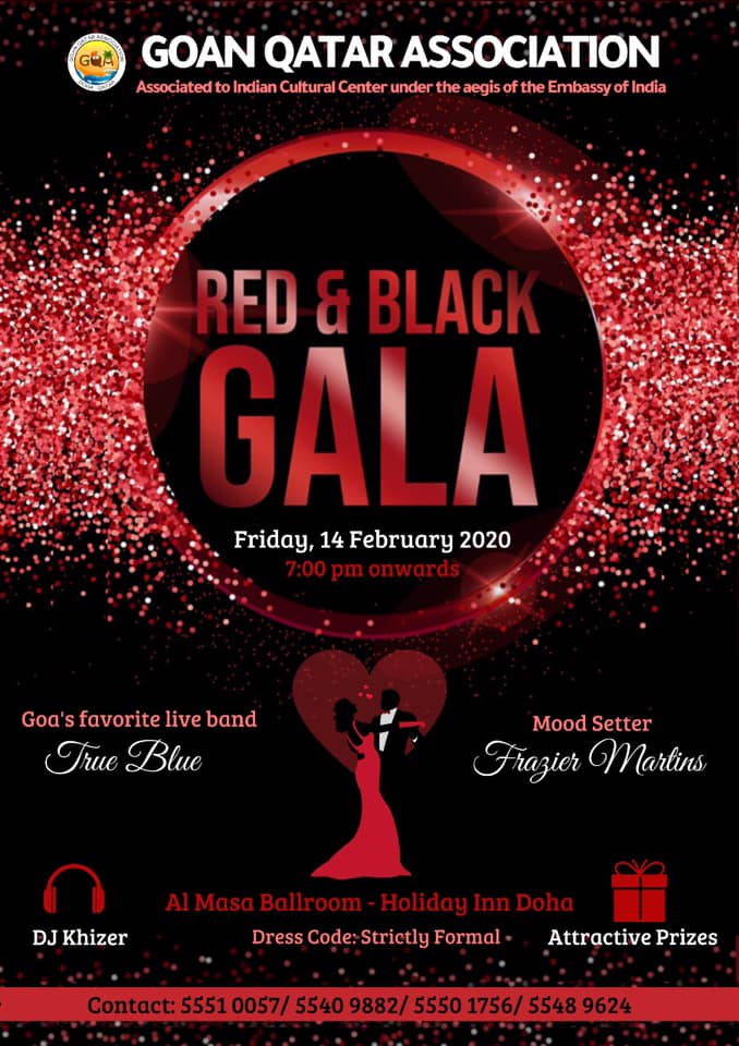 RED & BLACK GALA