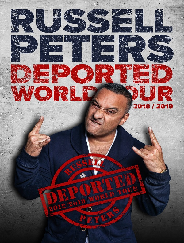 Russell Peters LIVE at Coca-Cola Arena, Dubai