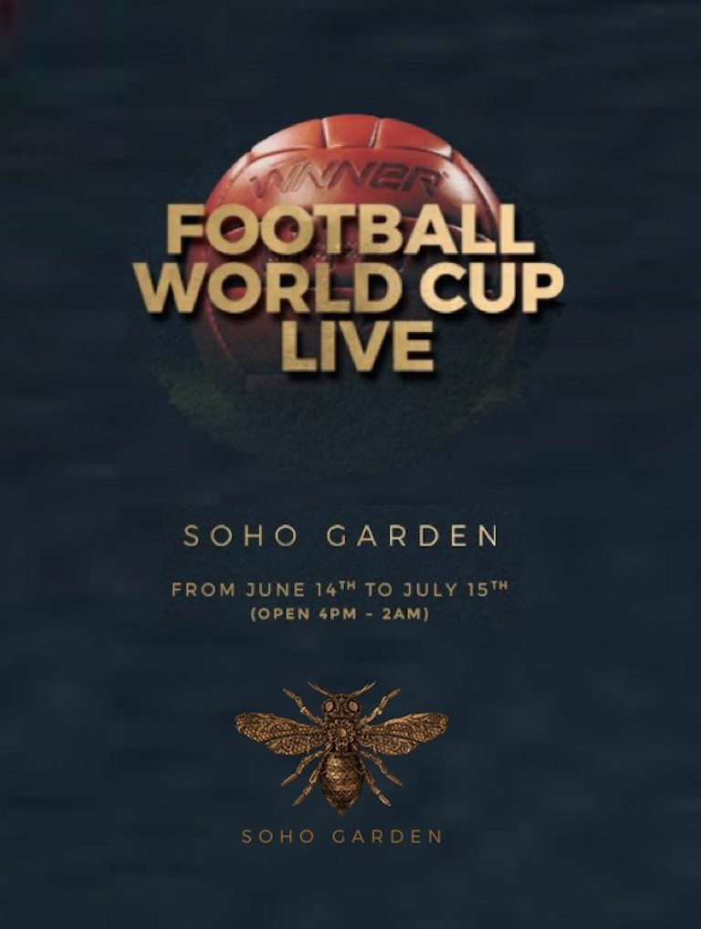 Football World Cup Live at Soho Garden