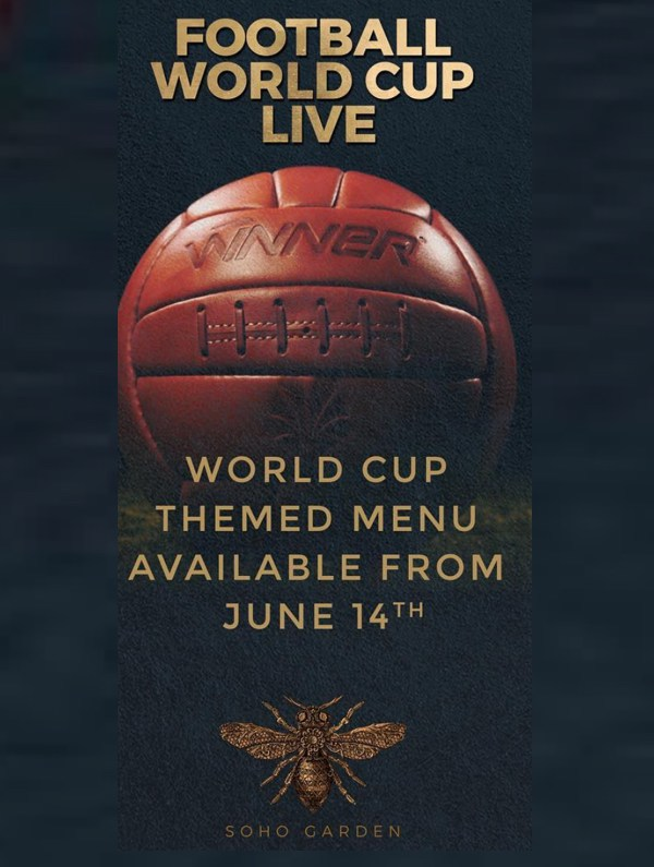 Football World Cup Live at Soho Garden