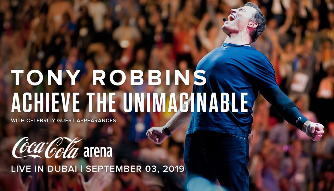 Tony Robbins LIVE at Coca-Cola Arena, Dubai