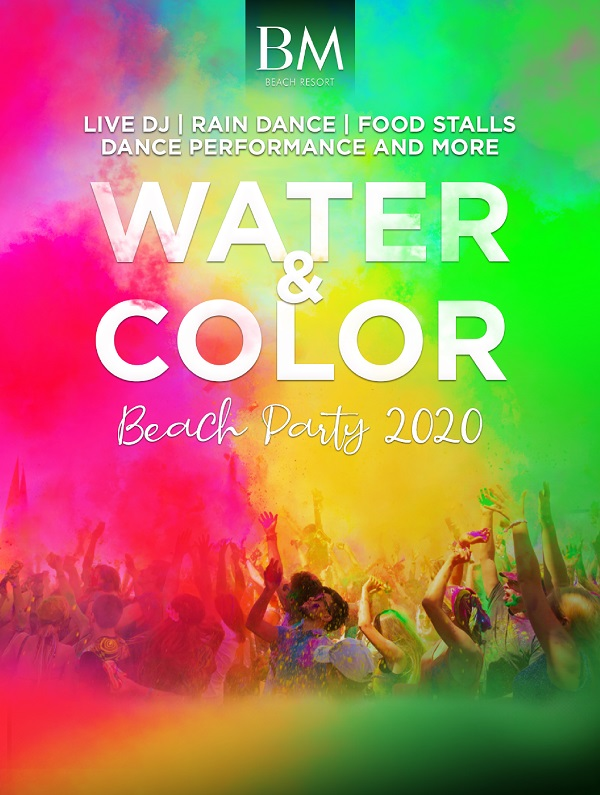 Water & Color Beach Party 2020