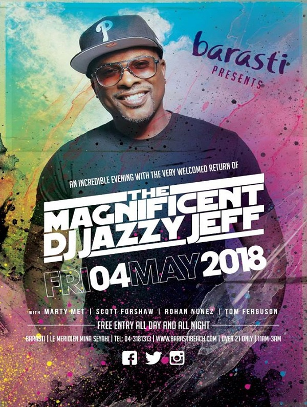 The Magnificent DJ Jazzy Jeff