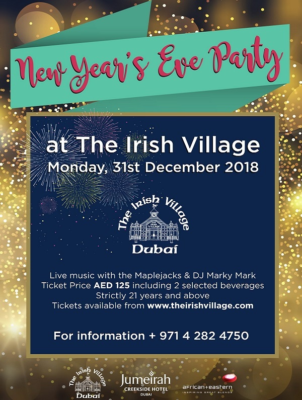 New Year's Eve Party at The Irish Village