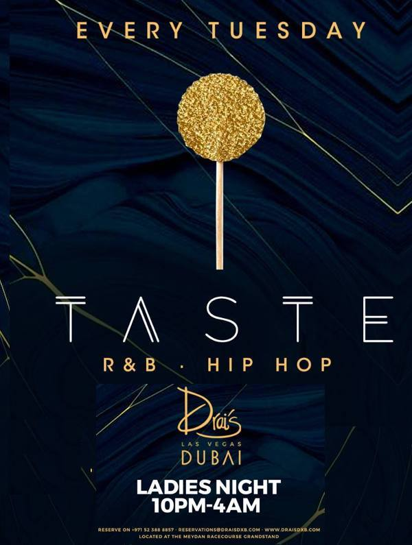 TASTE | Hip Hop & R&B Ladies Night