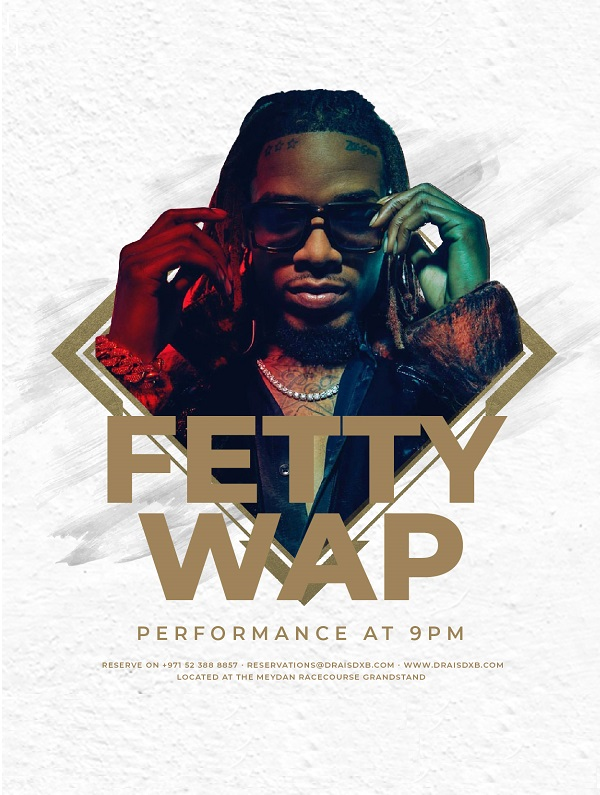 Fetty Wap at Drai's DXB - Live Performance