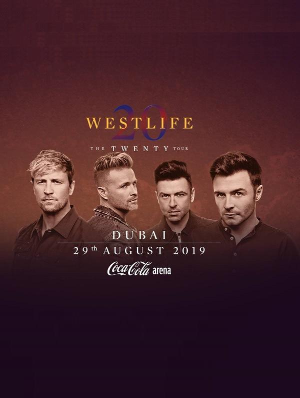 Westlife LIVE at Coca-Cola Arena, Dubai