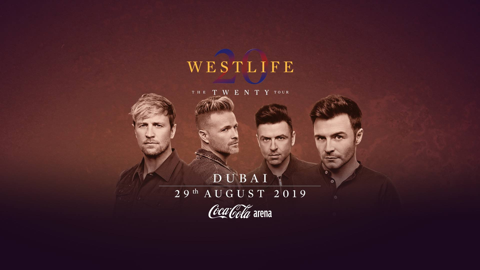 Westlife LIVE at Coca-Cola Arena, Dubai