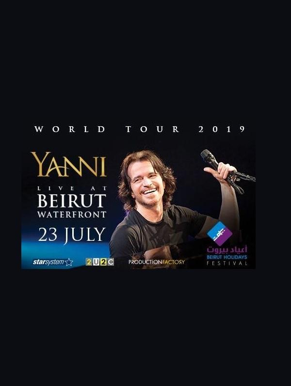 YANNI at Beirut Holidays Festival