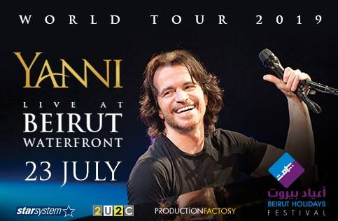 YANNI at Beirut Holidays Festival